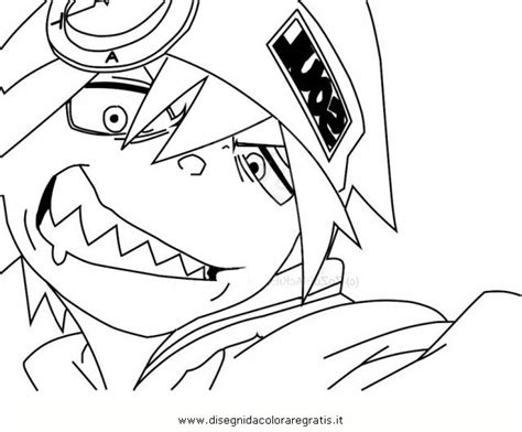 Black Star Soul Eater Coloring Pages To Print