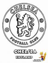 Coloring Pages Colouring Chelsea Football Soccer United Manchester Logos English Printable Boys Yescoloring Explosive Drawing Badge Fc League Premier Club sketch template