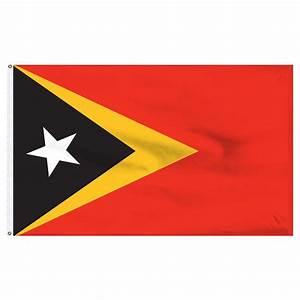 East Timor 2' x 3' Nylon Flag