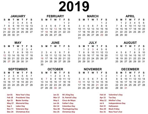 printable calendar yearly printable calendar
