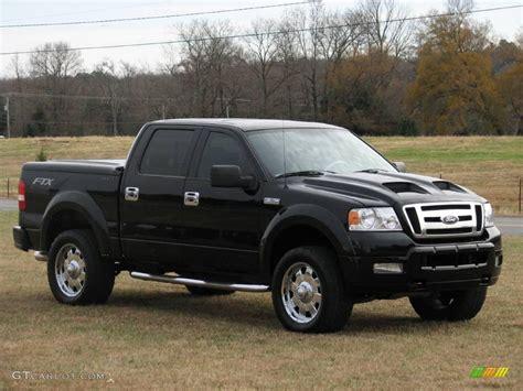 Black Ford F150 by 2005 Black Ford F150 Tuscany Ftx Supercrew 4x4 11323027