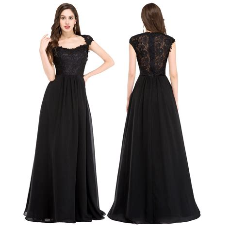 Vintage Long Evening Formal Party Ball Gowns Bridal Lace