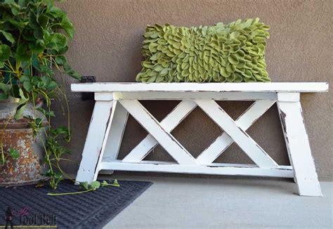 Diy Patio Bench Plans by Easy Diy Outdoor Garden Patio Furniture The Garden Glove