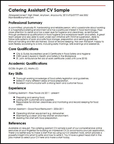 cv key qualifications resume samples