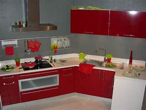 Dcoration Cuisine Rouge