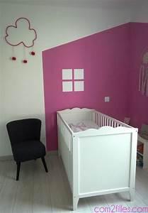 Mobilier Chambre Enfant : peinture chambre enfant bebe accueil design et mobilier ~ Teatrodelosmanantiales.com Idées de Décoration