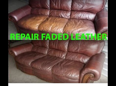 How To  Ee  Repair Ee   Restore Faded  Ee  Leather Ee   Quickly Easily It