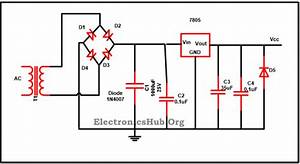 7805 Ic Voltage Regulator Circuit Working And Applications