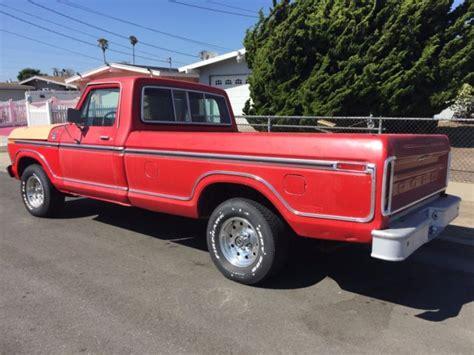 1977 ford f 150 ranger xlt all original