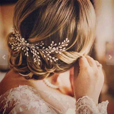 Luxury Vintage Bride Hair Accessories 100 Handmade Pearl