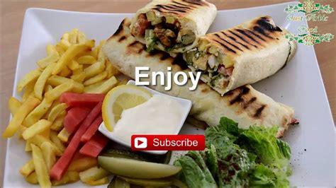 chicken shawarma syrian recipe  arabic food youtube
