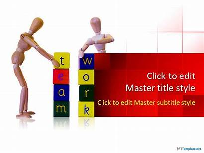Powerpoint Team Ppt Presentation Template Building Working