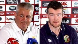 Warren Gatland & Peter O'Mahony Full Pre-Match Press ...