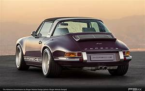 Porsche 911 Targa : singer atherton is one incredibly purple porsche targa p9xx ~ Medecine-chirurgie-esthetiques.com Avis de Voitures