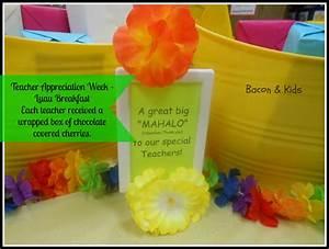 teacher appreciation gifts | Bacon & Kids