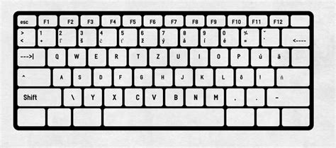 letters on keyboard slovak keyboard and how to type slovak letters 31707