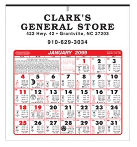 almanac calendars calendar company