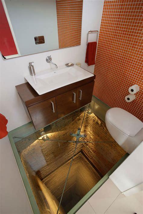 Bathroom Reading App by Glass Floor Bathroom 15 Story Elevator Shaft Bored