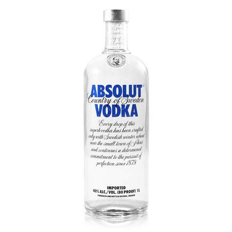 and vodka absolut vodka 1 0l 40 vol absolut vodka