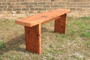 Simple Wooden Bench Plans