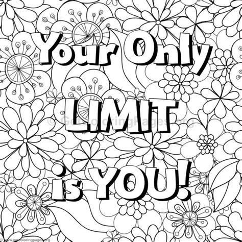 fun quote coloring pages inspirational word coloring pages live love laugh