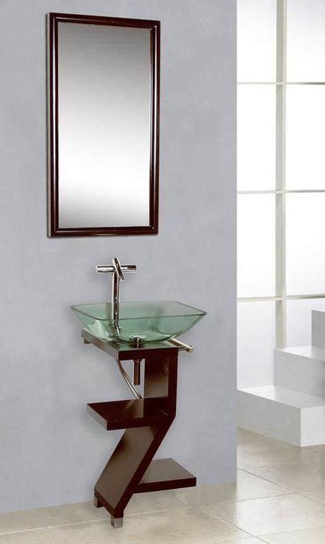 Vessel sink vanities a sink vessel is a unique way to add both form and function to the bathroom. Shallow Bathroom Vanities with 8-18 Inches of Depth ...