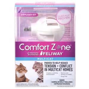 cat pheromone diffuser feliway feliway multicat calming diffuser starter kit for