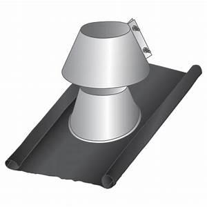 Solin D étanchéité : solin d 39 tancheit plomb inox 125 tubage conduit ~ Premium-room.com Idées de Décoration