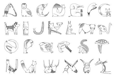 alfabeto animale erikarossi