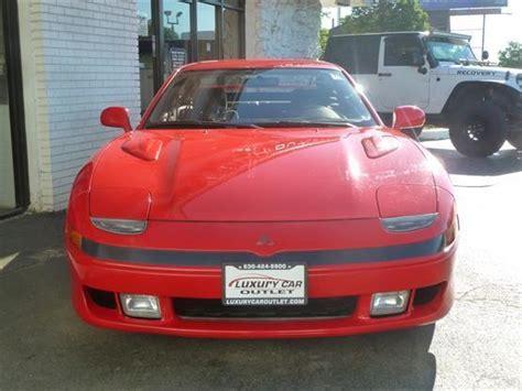 1993 Mitsubishi 3000gt Base 2dr Hatchback Red Luxury Car