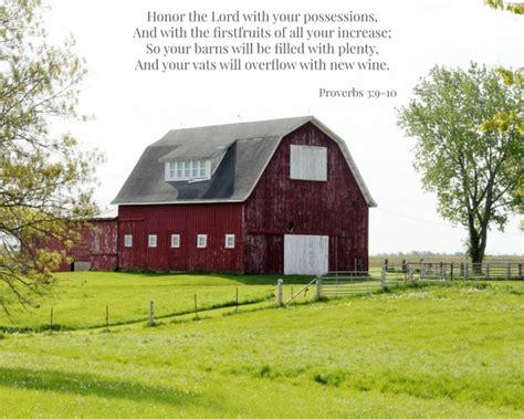 Big Red Barn Photograph Printable