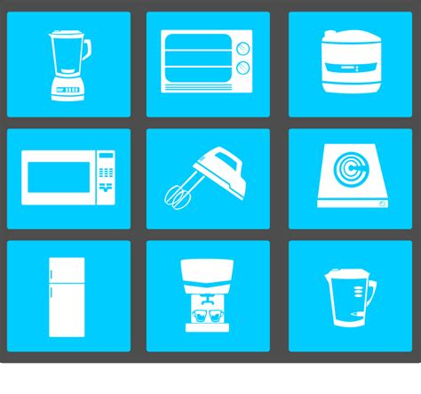 clipart electronic kitchenware