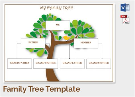 photo family tree template sample family tree chart template 17 documents in pdf