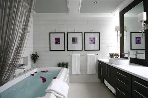 Luxe Modern Living Bathroom Accessories modern luxe bathroom contemporary bathroom