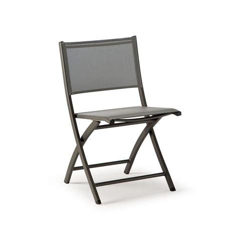 chaise aluminium exterieur tt961 chaise pliante en aluminium et textilène