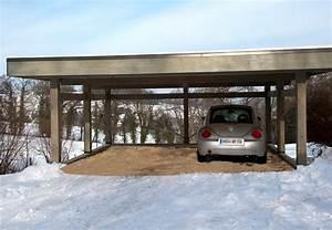 Carport Camping Car Alu : carport bois sur mesure ~ Dailycaller-alerts.com Idées de Décoration