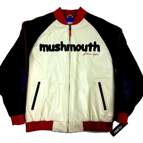 Cowhide Jackets by Platinum Fubu Mushmouth Cowhide Leather Jacket