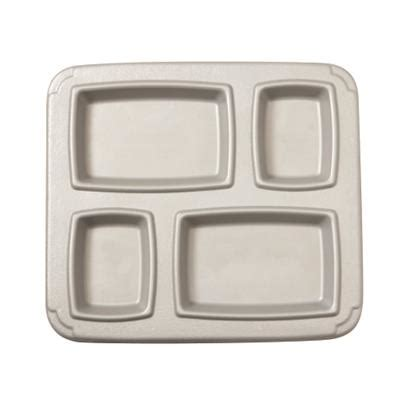 cook s 4 compartment insulated gator trays cook s correctional