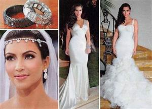 Kim kardashian replica wedding dresseswedding dresses for Kim kardashian s wedding dress