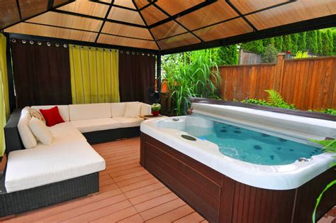 Enclosed Hot Tubs  Furniture Ideas For Home Interior
