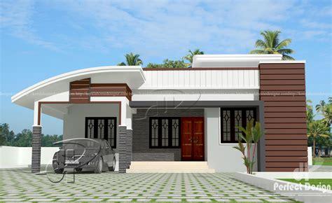 sqft modern single floor home kerala home design