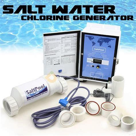 Salt Water L Hoax by Salt Water Chlorine Generator Aqua Swimming Pool