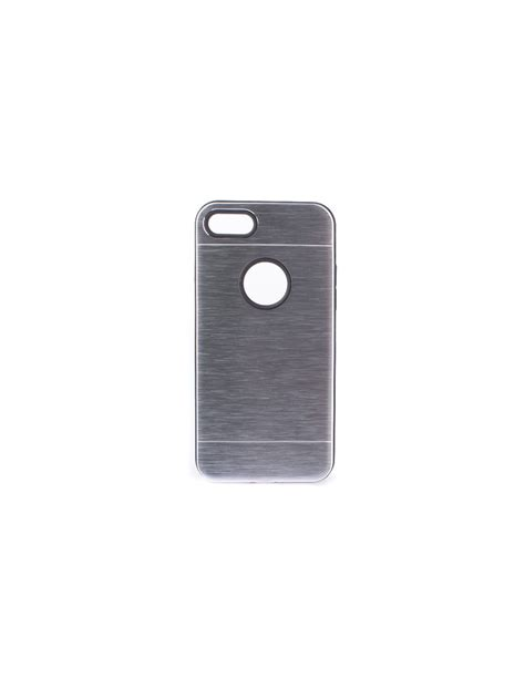 carcasa metalizada doble plata iphone