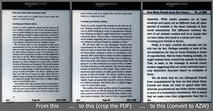 optimize pdf39s for reading on your kindle 3 crop then With document pdf kindle