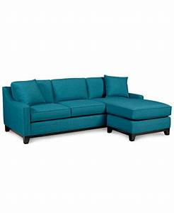 Keegan fabric 2 piece sectional sofa furniture macy39s for Keegan fabric 2 piece sectional sofa