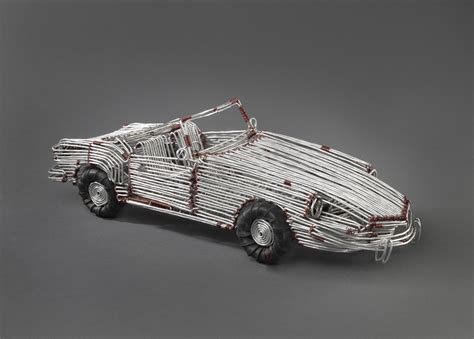 Wire Car by 100 Years 100 Objects Aluminum Wire Car Beyondbones