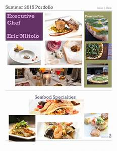 Chef nittolo pgoto portfolio for Chef portfolio template