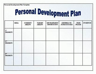 Development Plan Template Professional Personal Individual Sample