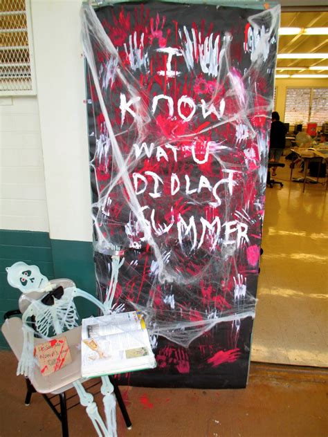 Scary Door Decorating Contest Ideas - highlands intermediate student activities october 2012