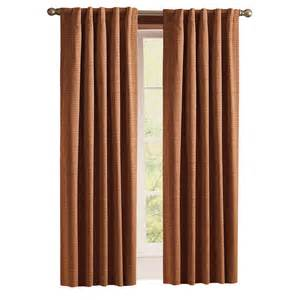 Lowes Com Curtains by Shop Style Selections Roberta 84 In Brick Polyester Back